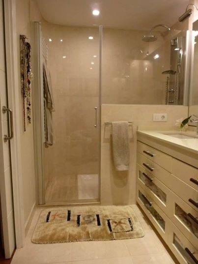 baño beige