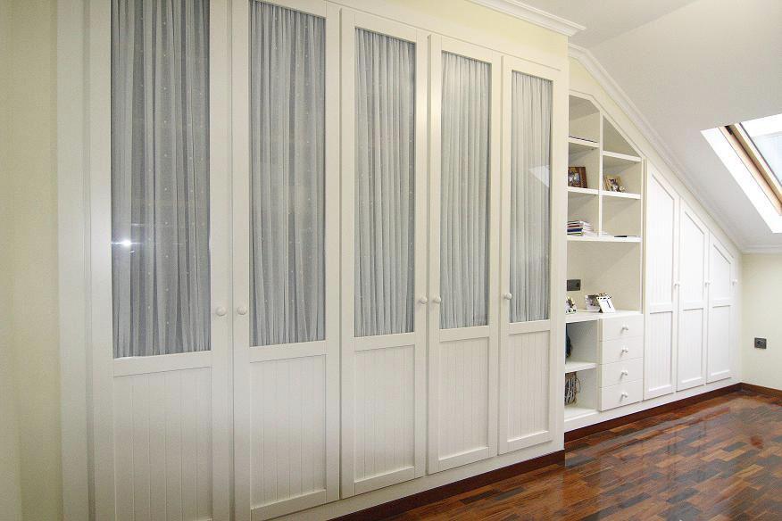 armario bajocubierta blanco