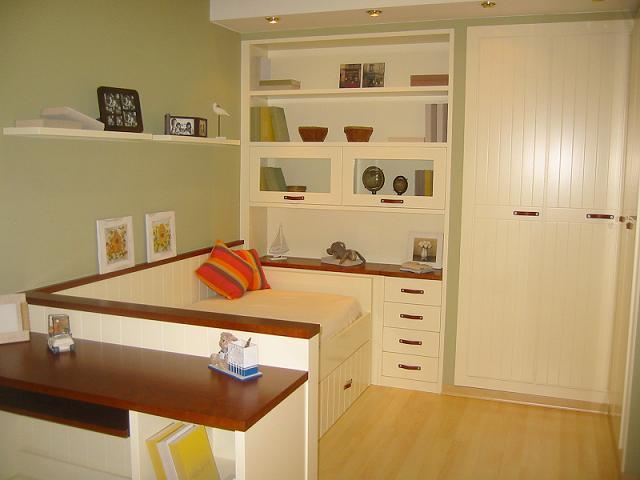 muebles a media dormitorio juvenil