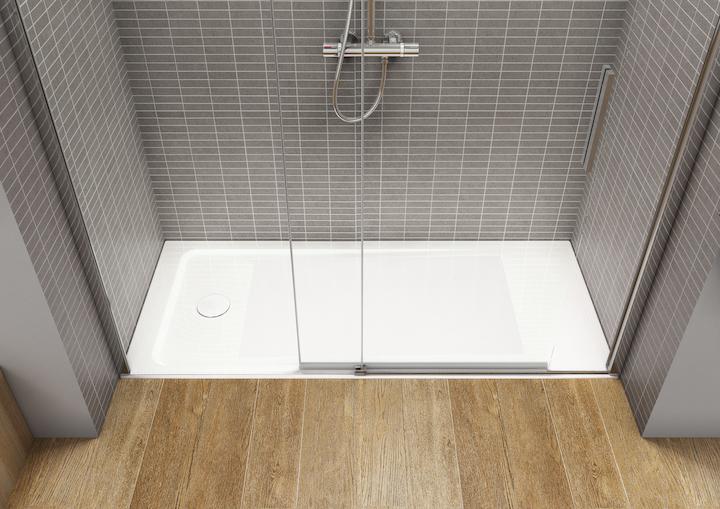 Reforma del baño. Tipos de plato de ducha