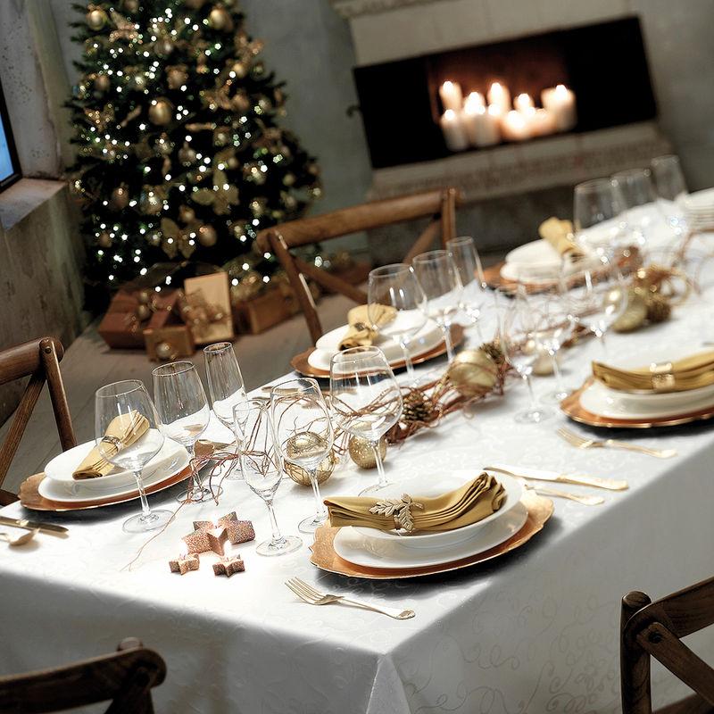 Decorar la mesa en navidad for Decorar mesa navidad para cena