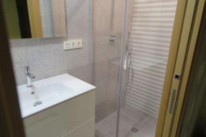 puerta corredera en baño