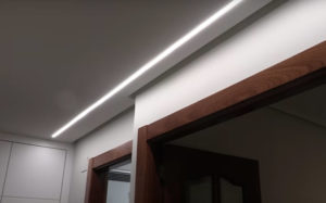 iluminacion encastrada techo