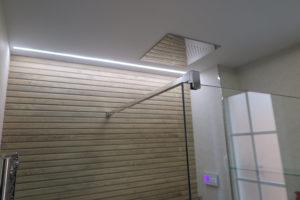 ducha empotrada techo