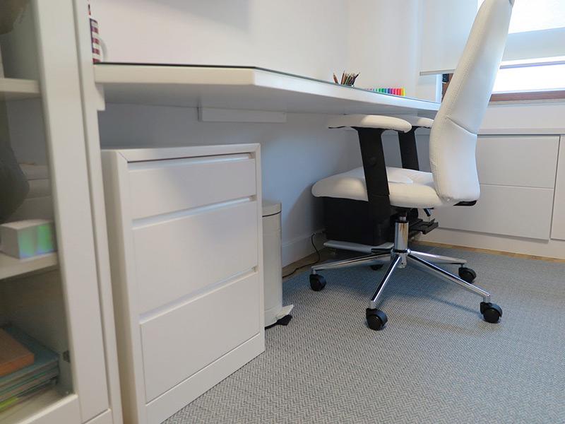 Mobiliario a medida para una habitación juvenil