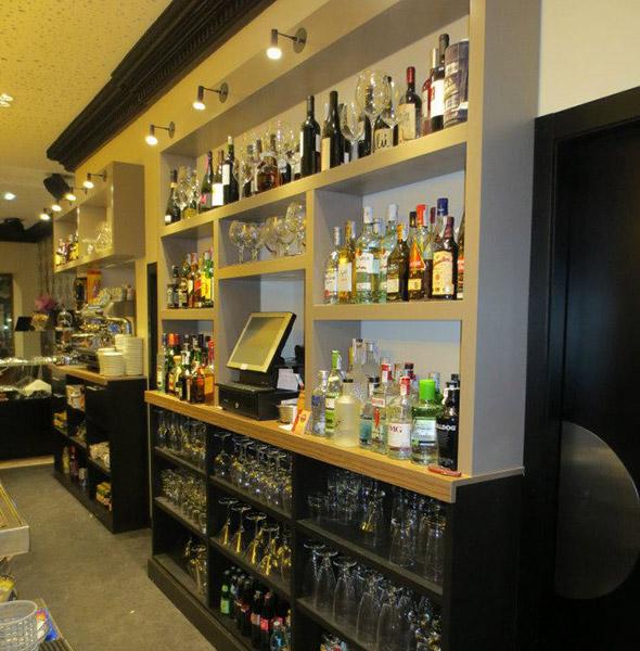 Reforma de mobilario para cafetería
