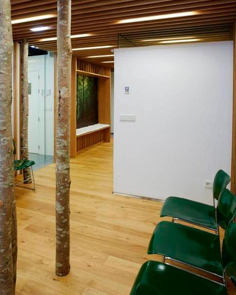Reforma de clínica dental - sala de espera